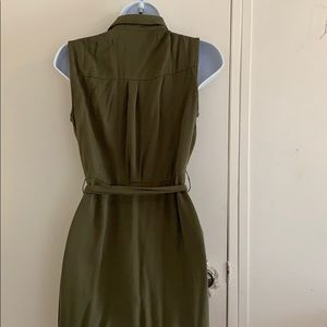 JustFab Dresses - Green sleeveless dress